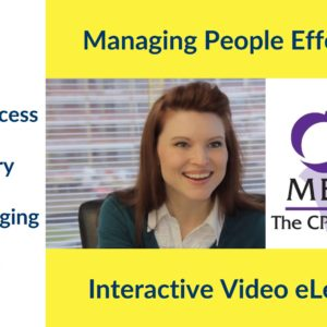 CPD certified Managing People Effectively course