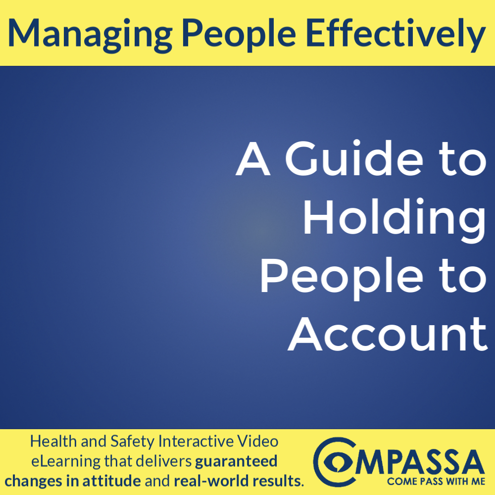 A Guide to Holding People to Account
